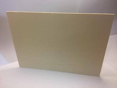 Medite MDF Lazer Board A4 Size 25x Sheets 3mm Thick x 297mm Long x210mm Wide T48