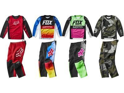 Fox Racing 180 Prix Fyce Kid's Jersey & Pant Combo MX/ATV/BMX Boy's Youth '20 Fox Youth 180 Pants