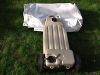 Wastemaster grey water carrier with storage bag