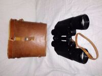 zenith binoculars 10x50 with case,working fine.