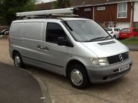 53 MERCEDES VITO 110 CDI, 1 PREVIOUS OWNER FROM NEW, LONG MOT, REALLY CLEAN VAN,