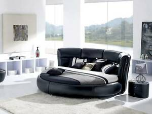 Stunning collection of premium quality leather bed king queen Melbourne CBD Melbourne City Preview
