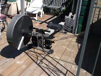 Rowing machine (roger black)