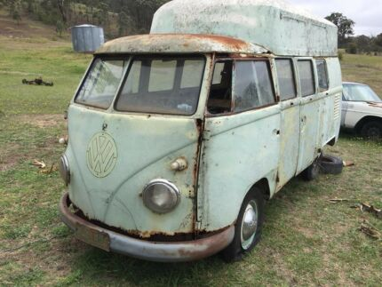 1962 splitscreen Kombi Canberra City North Canberra Preview