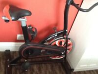 Exercise bike. As new condition.