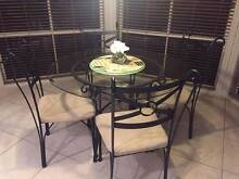 4 Piece glass table and chairs Dural Hornsby Area Preview