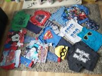 HUGE bundle boys clothes ages 3-4 & 4-5 years also trainers size 8 &9