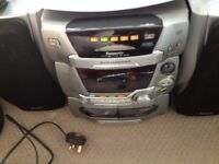 Panasonic SA-AK45 Stereo System with 5 CD Multichanger