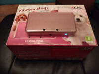 Pink 3DS Boxed with 90 Best Girlie 3DS Games - worth £950!