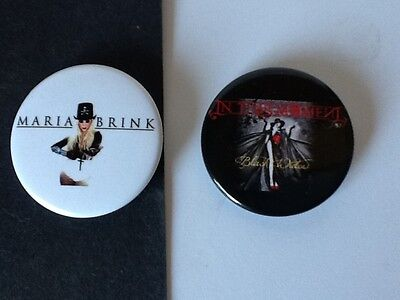 """8 ☆ Maria Brink ☆ In This Moment ☆ 1.75/"""" MAGNETS ☆ ☆ HEAVY METAL Magnets"""