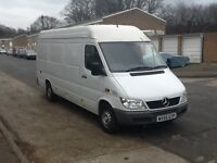 2005/55 MERCEDES SPRINTER 311 CDI L.W.B. FULL MERCEDES SERVICE HISTORY, 1 PREVIOUS OWNER FROM NEW
