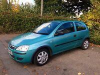 2004 Vauxhall Corsa Life 1.2