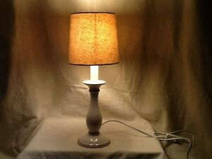 Ceramic base IKEA table lamp and shade working in great condition East Kurrajong Hawkesbury Area Preview