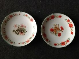 Staffordshire collectors plates