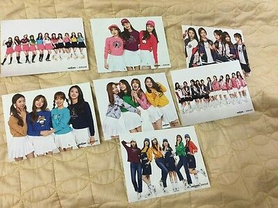 Ioi photocard photo card pancoat 7pcs autographed