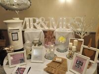 Wedding venue dressers, quality dressing, centrepeices, candy cart, postbox, chair covers,backdrop