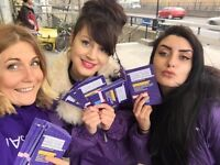 £10 Per Hour Paid ( And £10 Travel ) To Confident And Friendly Promo Staff in Chester!