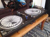 Technics 1210 MK3D & MK2