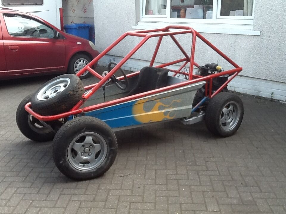Rolling chassis space frame off road buggy no V5 quick sale first ...