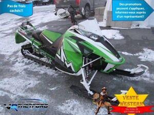 2016 Arctic Cat MOTONEIGE M8 M8000 SNO-PRO 153 POUCES SE