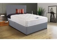 new double bed in grey ===free delivery