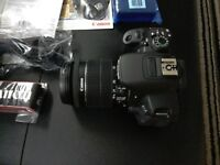 EOS 700D Camera and eccseories