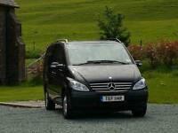 Mercedes viano mpv 7 seater inc driver