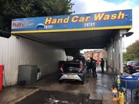 Established Hand Car Wash Business For Sale - Located on Manchester's Busiest Road - Petrol Station