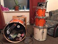 Mapex M Series Drum Shells