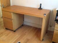 Office desk from Ikea