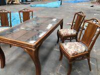 Rattan Conservatory Furniture.