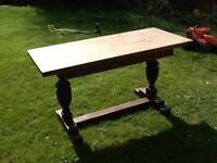 Old fashioned kitchen/ Dining table for sale- ideal for upcycling