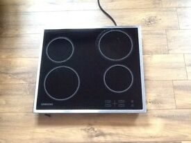 Induction electric hob