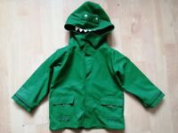 Jojo Maman Bebe green dino fisherman's jacket age 5-6