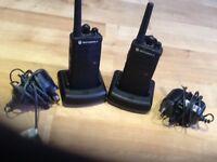 Two Motorola Radios XTNi
