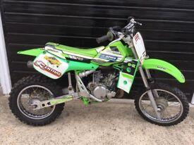 Kawasaki KX60 motocross bike