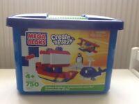 Mega Blocks Box inc 10 sealed bags