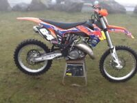 2014 KTM 125SX part ex car van bike