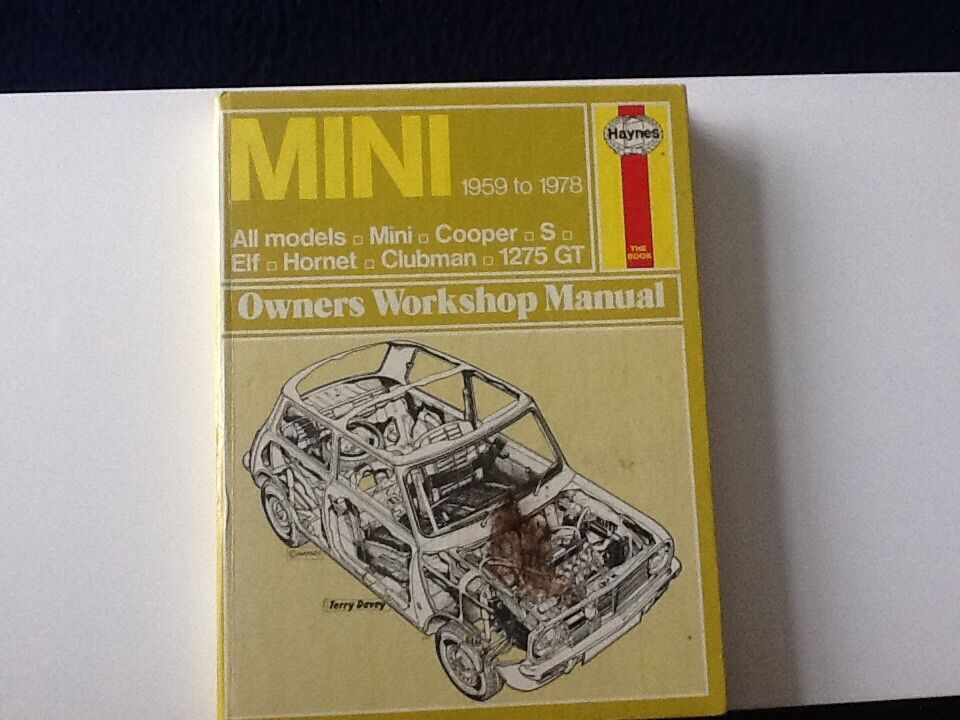 MINI OWNERS WORKSHOP MANUAL 1959 1978 in Horsham West  : 86 from www.gumtree.com size 960 x 720 jpeg 101kB