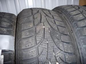 4 pneus d'hiver 185/65/15 Winter Claw Extreme Grip, 35% d'usure, mesure 8/32