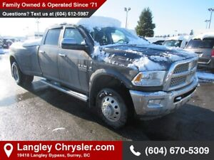 2017 RAM 3500 Laramie *DUALLY* *AUTO LEVEL SUSPENSION* *AISIN*