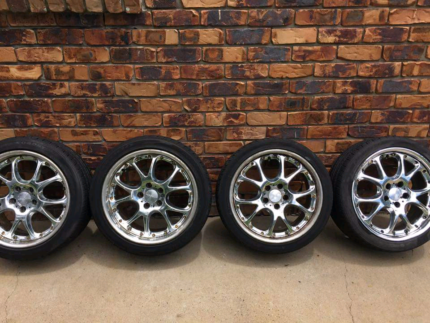 "18"" SSR Wheels and Tyres 5x114.3"