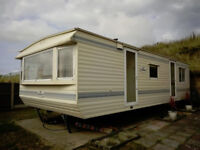 STATIC CARAVAN TO BE SOLD OFF SITE FOR SELF BUILD, EXTRA ACCOMMODATION ETC