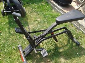 exersize machine good condition only £10.00