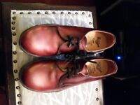 Dr Martin safety shoes, colour Oxblood, size 8 £25