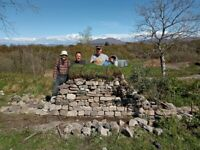 Dry Stone Walling Course, 2 days (the 16th and 17th of October 2021)