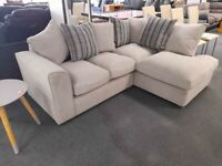 DECENT BRAND NEW BARCELONA CORNER SOFA WITH AMAZING DISCOUNTED OFFER IS AVAILABLE