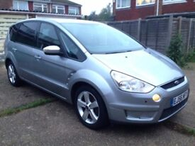 Ford S-max Smax 7 seater 1.8 TDCI NEW MOT