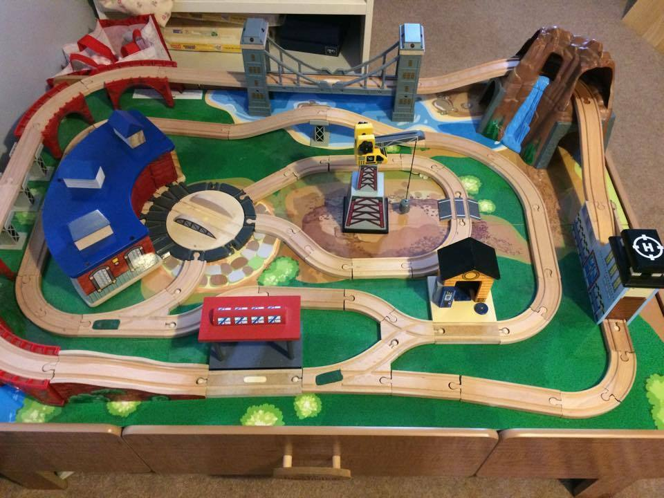 Toys R Us Trains : Mountain rock train table toys r us in dundee gumtree