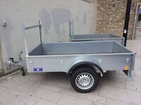 NEW GALVANISED LADDER-RACK TRAILERS